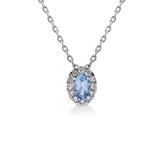 Aura Smykke - Topas og Diamant