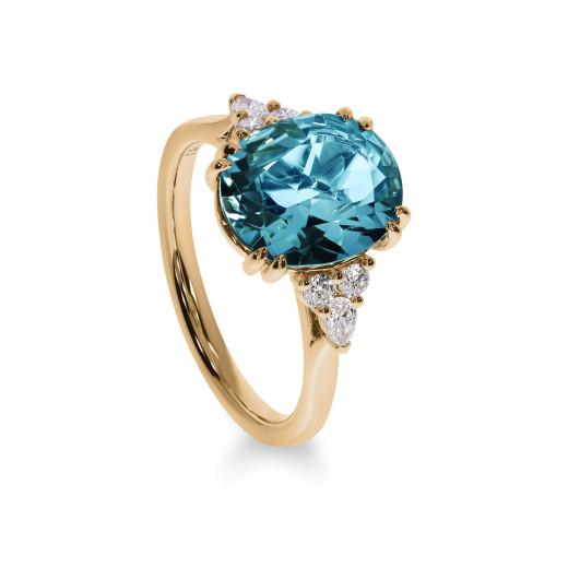 Azzurro Diamantring