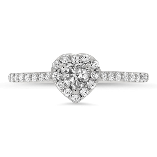 Cuore II Diamantring