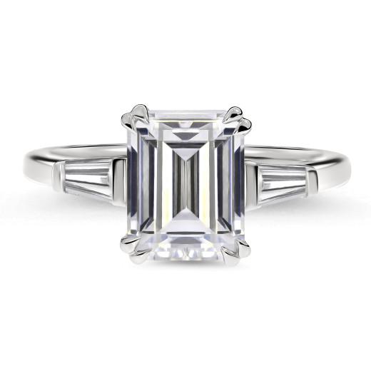 Emeralda Grande Diamantring