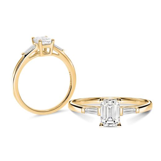Emeraldo Diamantring