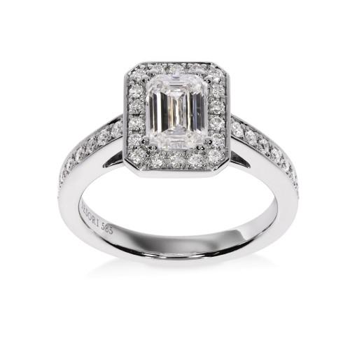 Emeralda II Diamantring