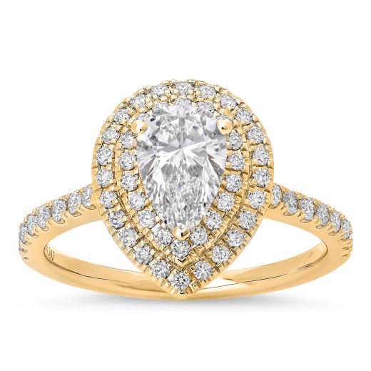 La Pera Diamantring