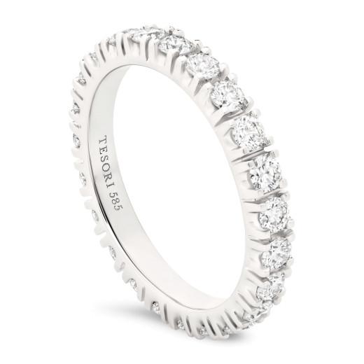Moderna Eternity Diamantring