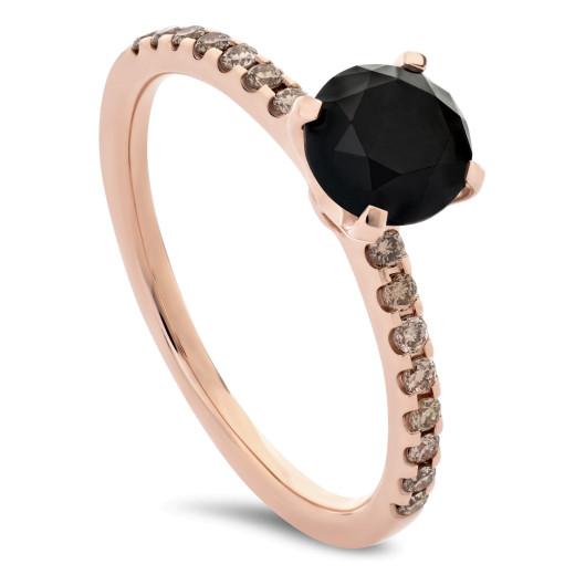 Oscuro Pink Diamantring