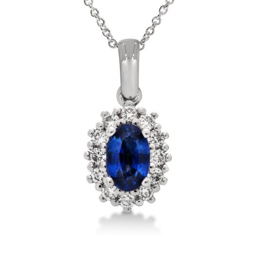 Magnifico Piccola Anheng - Safir og Diamant