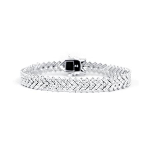 Serpente II Diamantarmbånd