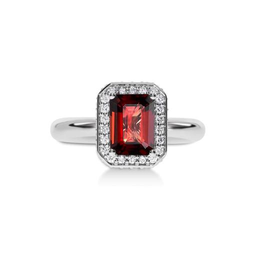 Sogno Rosso Diamantring