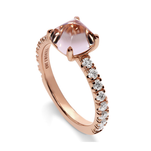 Verona Rosa Diamantring