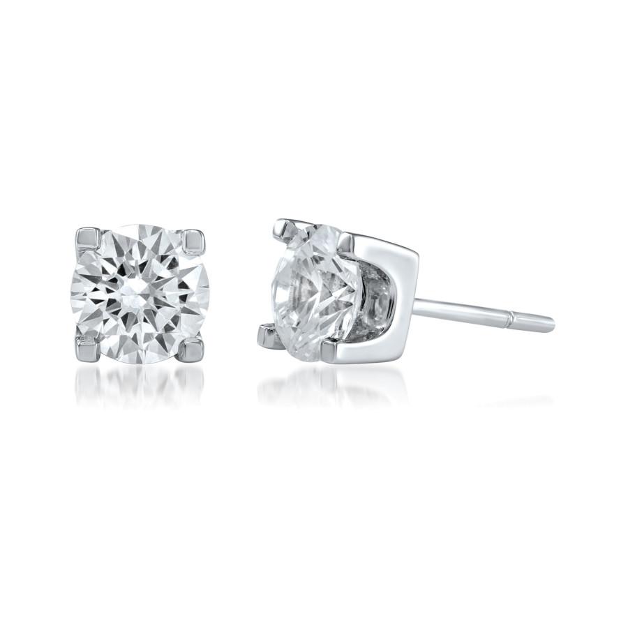 Brilliante diamantøredobber