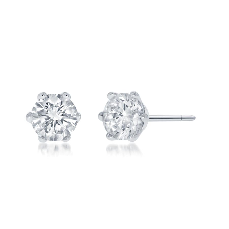 Cielo Enstens Diamantøredobber 0,40ct