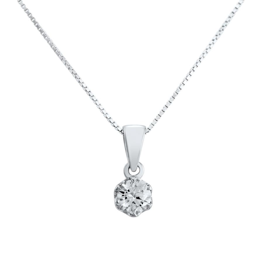 Verità enstens diamantanheng  0,60ct