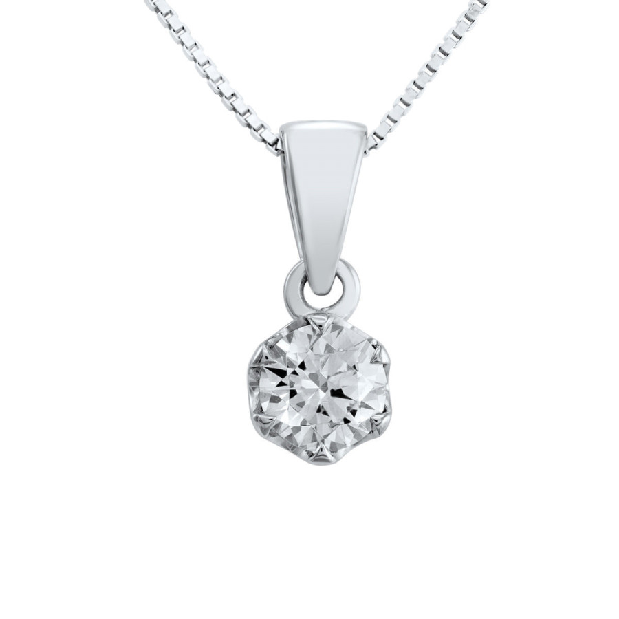 Verità enstens diamantanheng 0,40ct