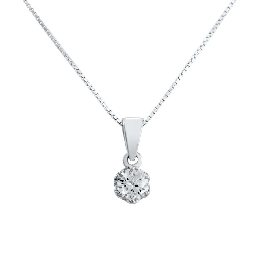 Verità enstens diamantanheng 0,30ct GIA