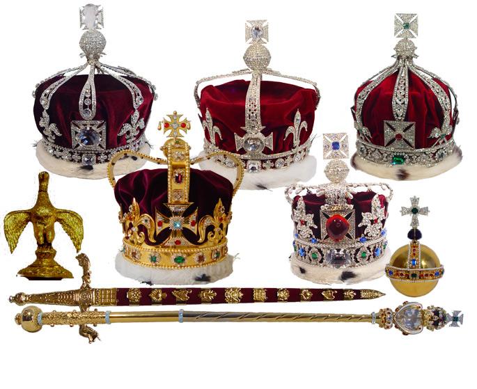 De engelske kronjuvelene