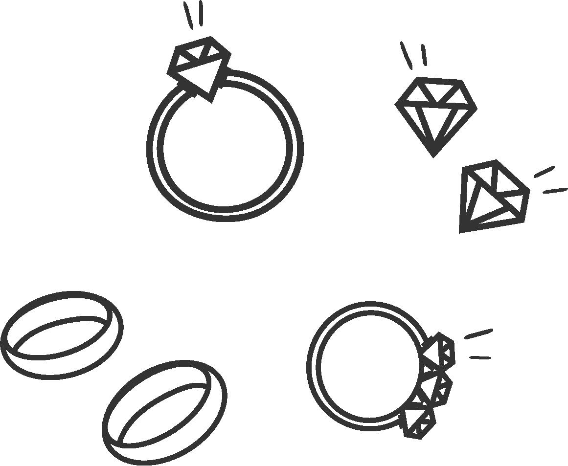 Illustrasjonsbilde av diamantsmykker som du kan ta en titt på før du kjøper.